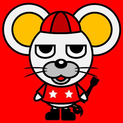 騎手衣装を着たネズミのアイコン(3)画像3
