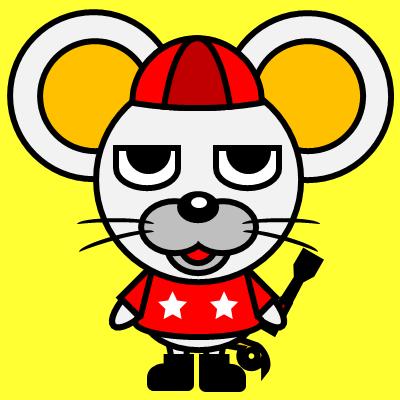 騎手衣装を着たネズミのアイコン(3)画像5
