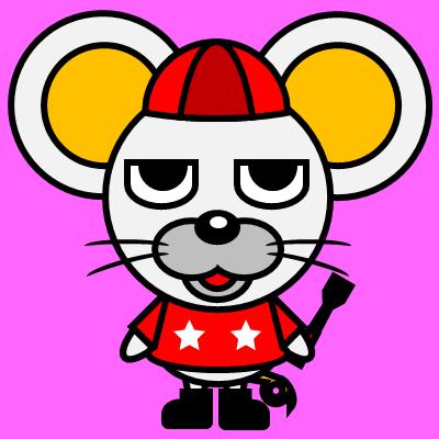 騎手衣装を着たネズミのアイコン(3)画像8