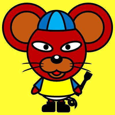 騎手衣装を着たネズミのアイコン(4)画像5