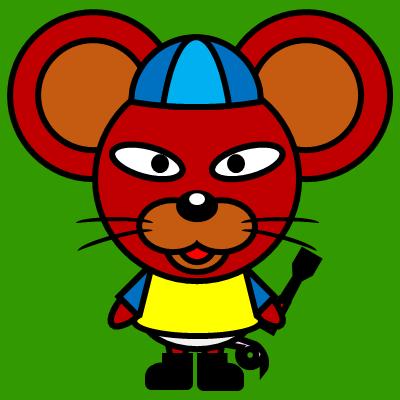 騎手衣装を着たネズミのアイコン(4)画像6