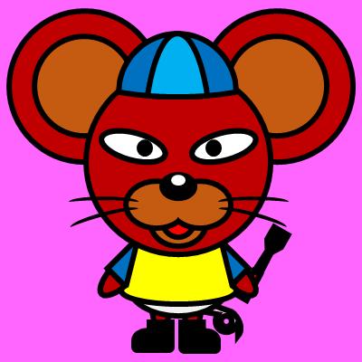 騎手衣装を着たネズミのアイコン(4)画像8