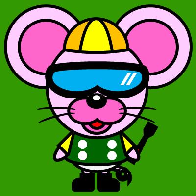 騎手衣装を着たネズミのアイコン(5)画像6