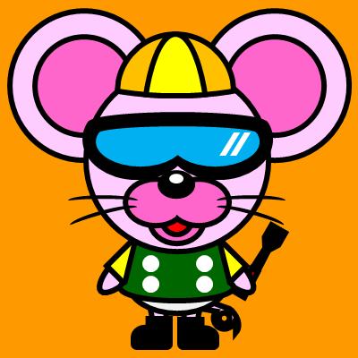 騎手衣装を着たネズミのアイコン(5)画像7