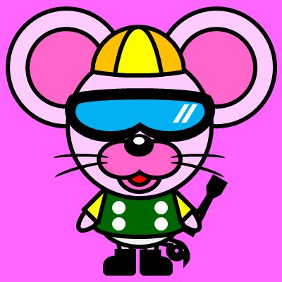 騎手衣装を着たネズミのアイコン(5)画像8