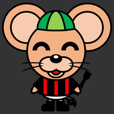 騎手衣装を着たネズミのアイコン(6)画像2