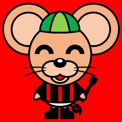 騎手衣装を着たネズミのアイコン(6)画像3