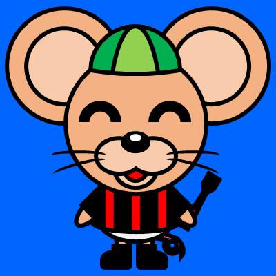 騎手衣装を着たネズミのアイコン(6)画像4