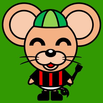 騎手衣装を着たネズミのアイコン(6)画像6