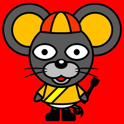 騎手衣装を着たネズミのアイコン(7)画像3