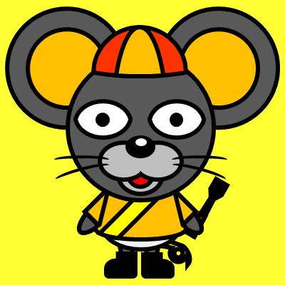 騎手衣装を着たネズミのアイコン(7)画像5