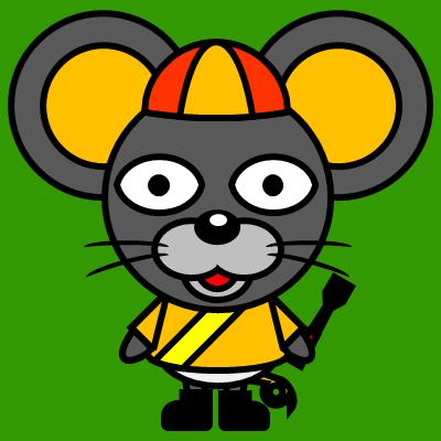 騎手衣装を着たネズミのアイコン(7)画像6
