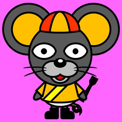 騎手衣装を着たネズミのアイコン(7)画像8