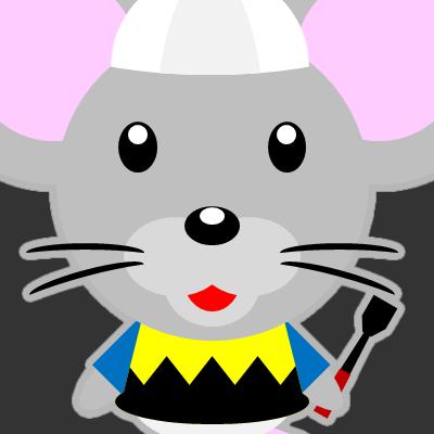 騎手衣装を着たネズミのアイコン(9)画像2