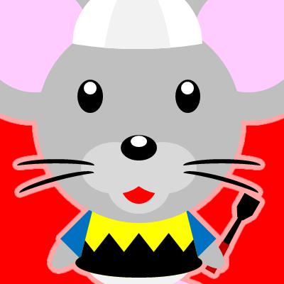 騎手衣装を着たネズミのアイコン(9)画像3