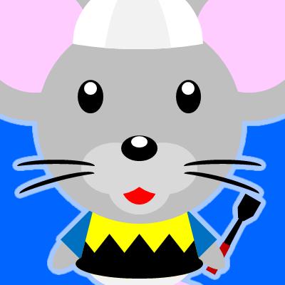 騎手衣装を着たネズミのアイコン(9)画像4