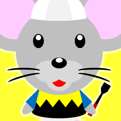 騎手衣装を着たネズミのアイコン(9)画像5