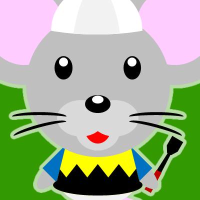 騎手衣装を着たネズミのアイコン(9)画像6