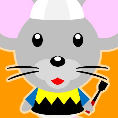 騎手衣装を着たネズミのアイコン(9)画像7