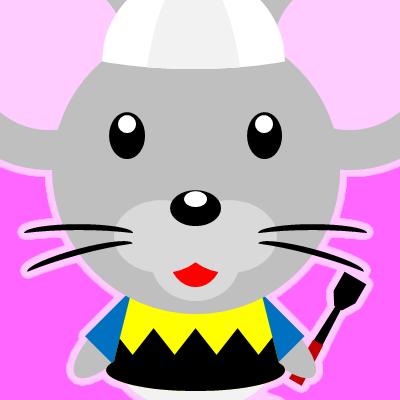騎手衣装を着たネズミのアイコン(9)画像8