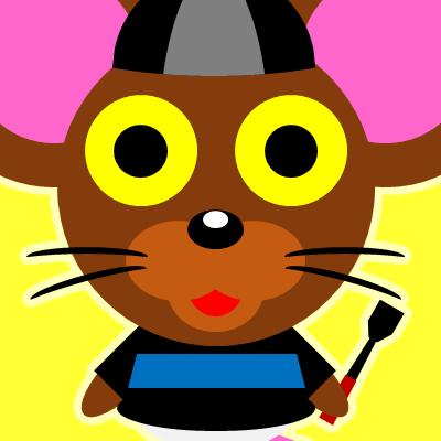 騎手衣装を着たネズミのアイコン(10)画像5