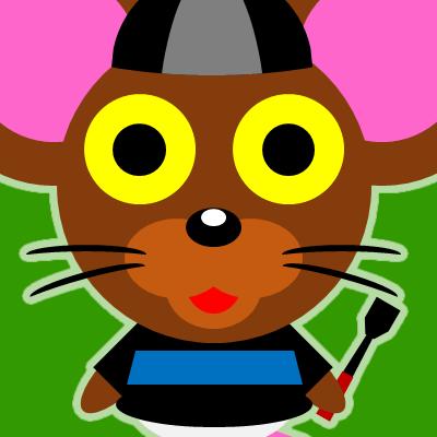 騎手衣装を着たネズミのアイコン(10)画像6