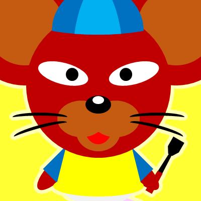 騎手衣装を着たネズミのアイコン(12)画像5