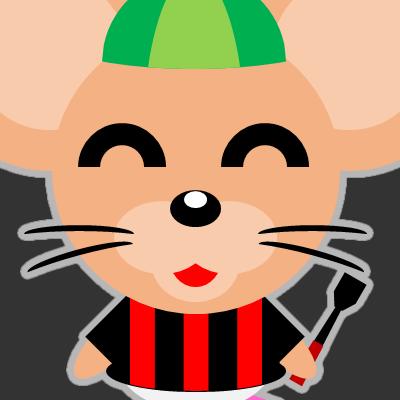 騎手衣装を着たネズミのアイコン(14)画像2