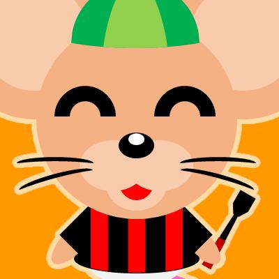 騎手衣装を着たネズミのアイコン(14)画像7