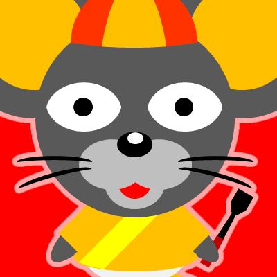 騎手衣装を着たネズミのアイコン(15)画像3