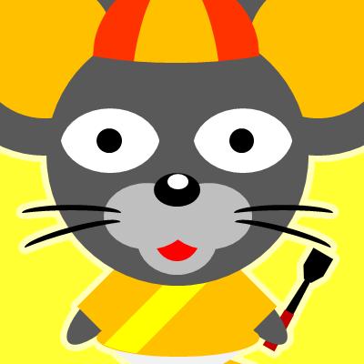 騎手衣装を着たネズミのアイコン(15)画像5