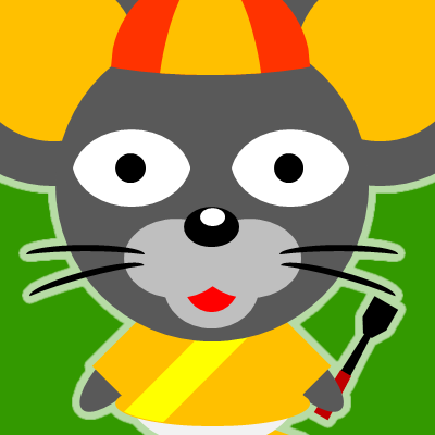 騎手衣装を着たネズミのアイコン(15)画像6
