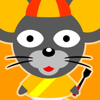 騎手衣装を着たネズミのアイコン(15)画像7