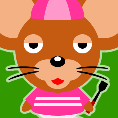 騎手衣装を着たネズミのアイコン(16)画像6