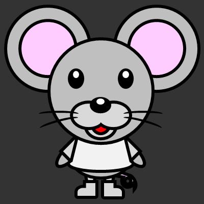 かわいいネズミのアイコン(1)画像2