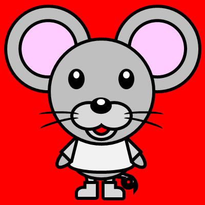 かわいいネズミのアイコン(1)画像3