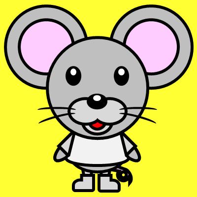 かわいいネズミのアイコン(1)画像5