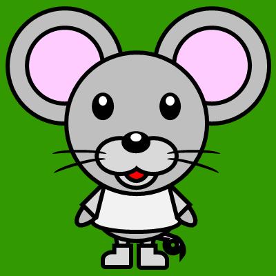 かわいいネズミのアイコン(1)画像6