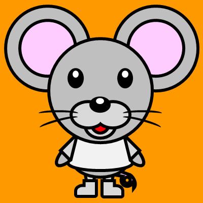 かわいいネズミのアイコン(1)画像7
