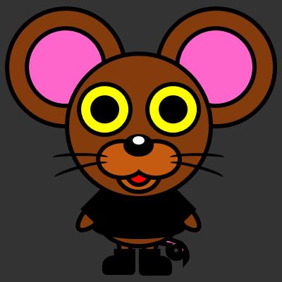 かわいいネズミのアイコン(2)画像2
