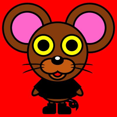 かわいいネズミのアイコン(2)画像3