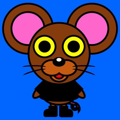 かわいいネズミのアイコン(2)画像4