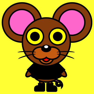 かわいいネズミのアイコン(2)画像5