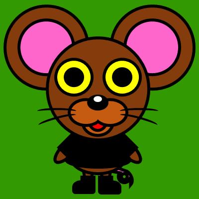 かわいいネズミのアイコン(2)画像6