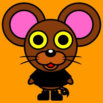 かわいいネズミのアイコン(2)画像7