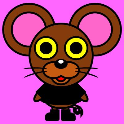 かわいいネズミのアイコン(2)画像8