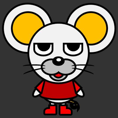 かわいいネズミのアイコン(3)画像2