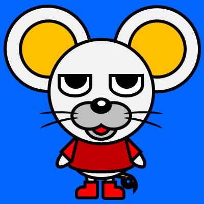 かわいいネズミのアイコン(3)画像4
