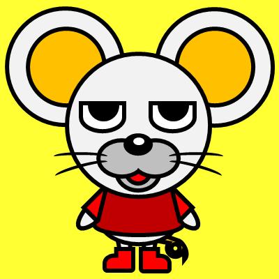 かわいいネズミのアイコン(3)画像5