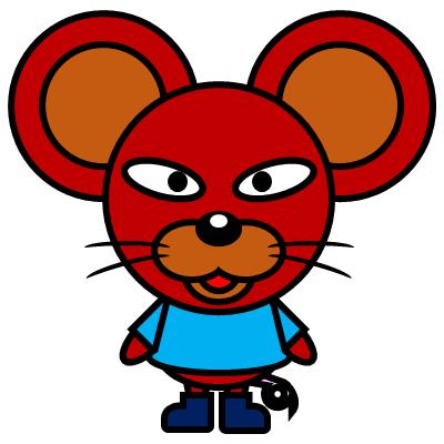 かわいいネズミのアイコン(4)画像